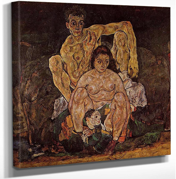 The Family 1918 By Egon Schiele Art Reproduction from Wanford.