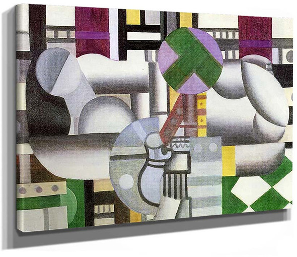 The Birds In The Landscape 1921 By Fernand Leger