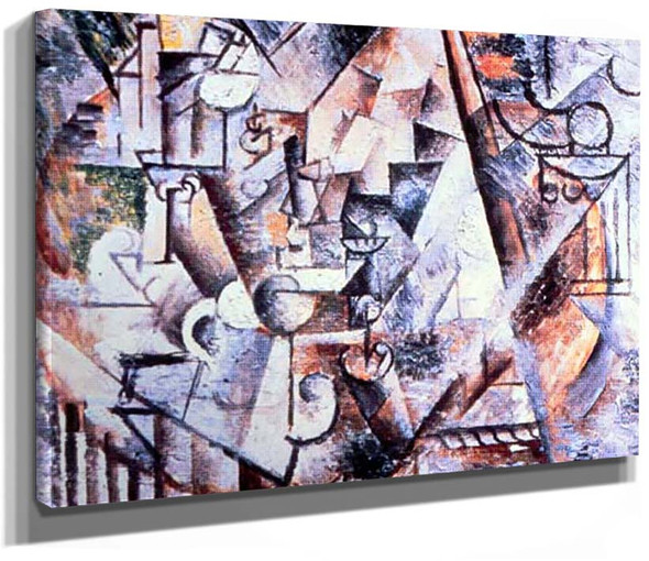 The Chess 1911 By Pablo Picasso