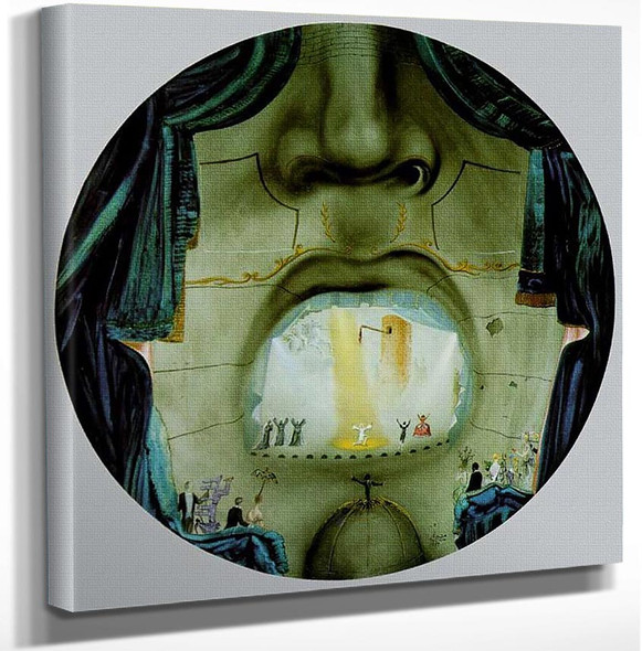 The Grand Opera By Salvador Dali Art Reproduction from Wanford.