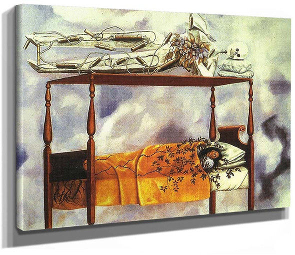 The Dream The Bed 1940 By Frida Kahlo