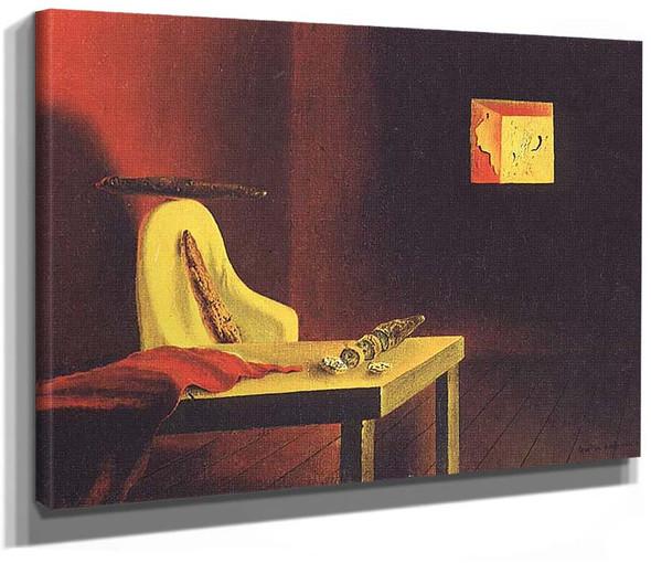The Invisible Man By Salvador Dali
