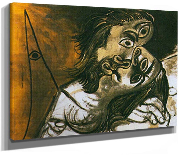 The Kiss By Pablo Picasso