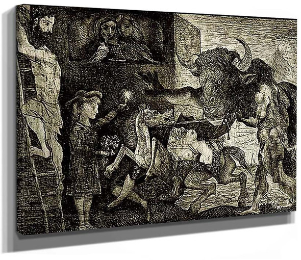 The Minotauromachie 1935 By Pablo Picasso