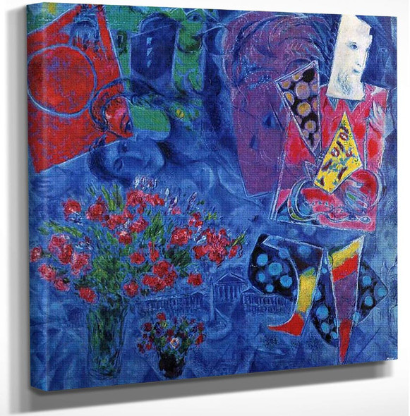 The Magician 1968 By Marc Chagall Art Reproduction from Wanford.