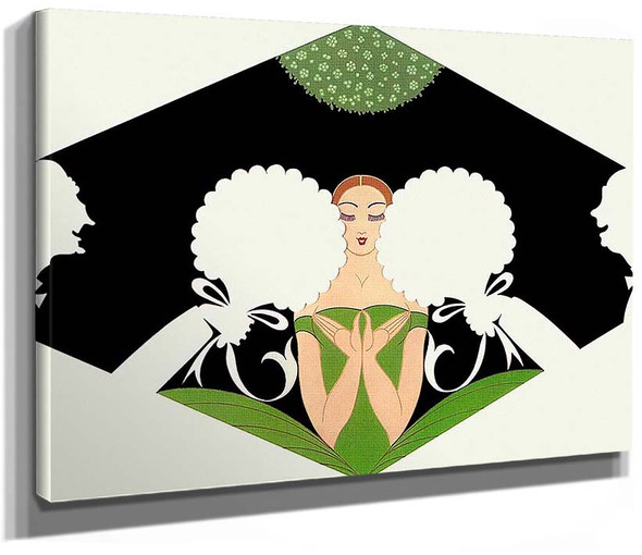 The Suitors By Erte