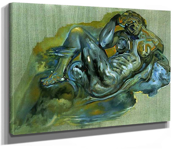 Untitled After The Night By Michelangelo By Salvador Dali