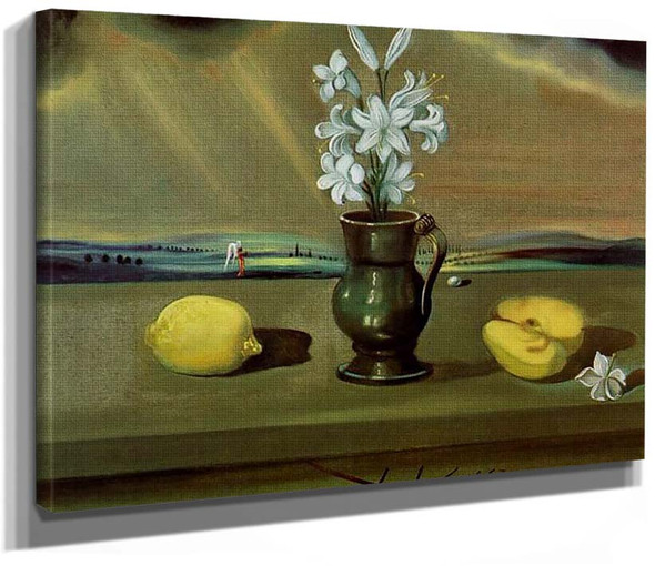 Untitled Still Life With Lilies By Salvador Dali