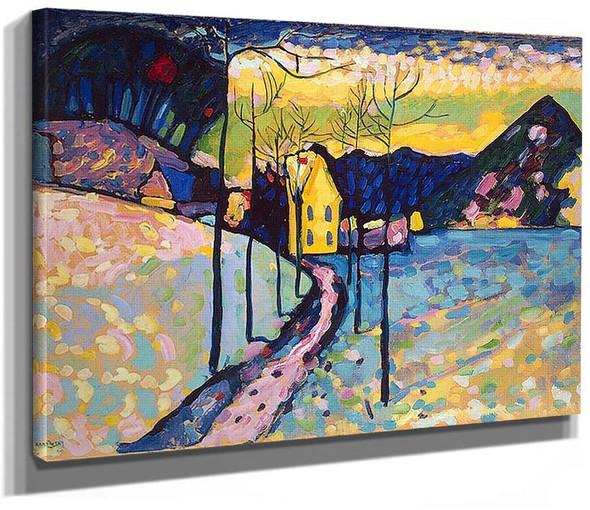 Winter Landscape 1909 By Wassily Kandinsky