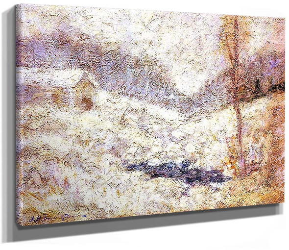 Winter Scene By Maurice Utrillo