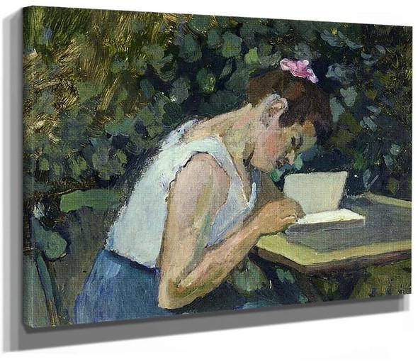 Woman Reading In A Garden 1903 By Henri Matisse