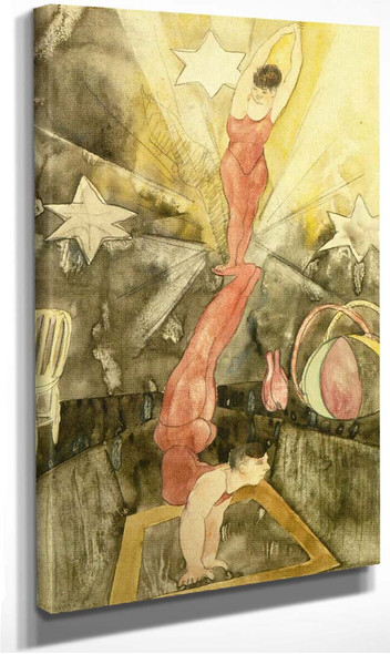 Acrobats By Charles Demuth