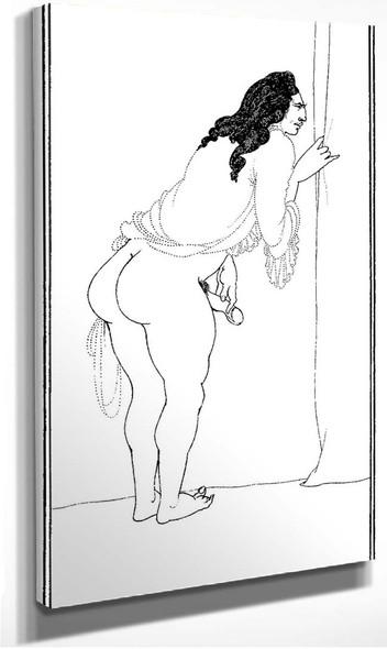 Adulterer 1897 By Aubrey Beardsley