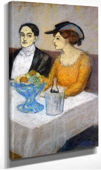 Angel Fernandez De Soto And His Friend 1903 By Pablo Picasso