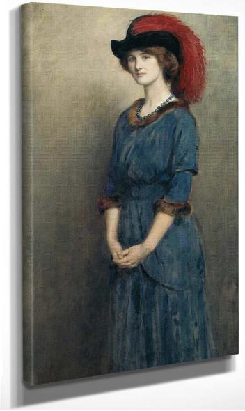 Angela Mcinnes By John Maler Collier