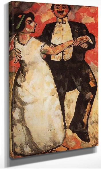 Argentine Polka 1911 By Kazimir Malevich