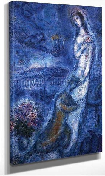 Bathsheba 1963 By Marc Chagall
