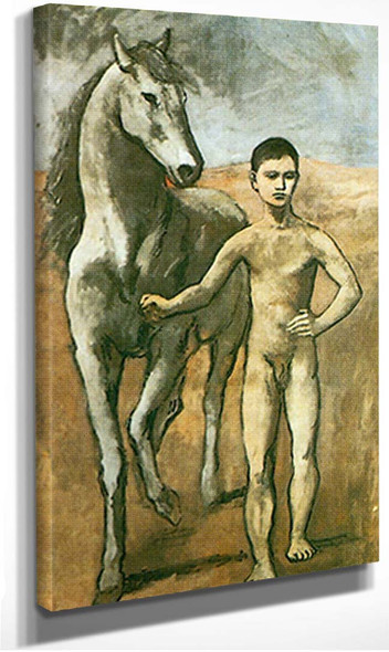 Boy Leading A Horse By Pablo Picasso