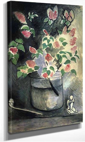 Branch Of Lillacs 1914 By Henri Matisse