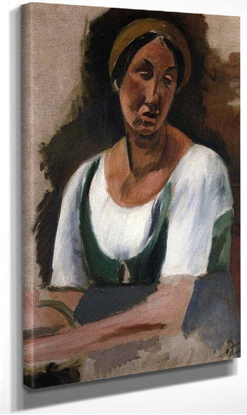 Bust Of A Woman By Andre Derain