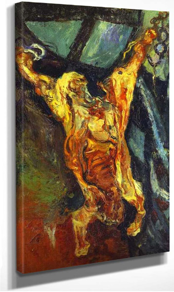 Carcass Of Beef By Chaim Soutine