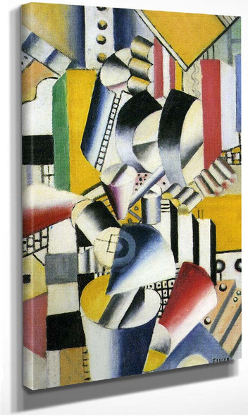 Contrast Of Forms 1918 By Fernand Leger