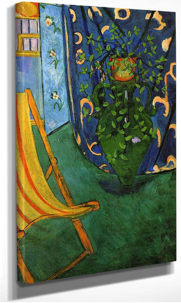 Corner Of The By S Studio 1912 By Henri Matisse