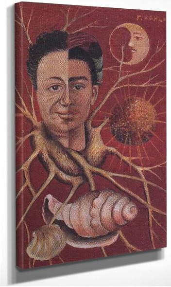 Diego And Frida 1944 By Frida Kahlo