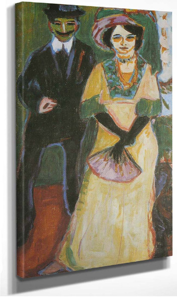 Dodo And Her Son By Ernst Ludwig Kirchner