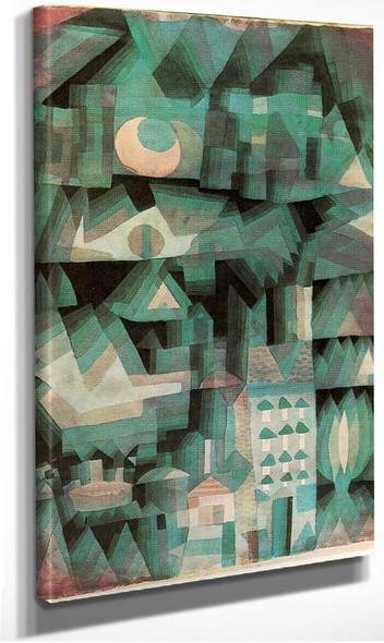 Dream City 1921 By Paul Klee