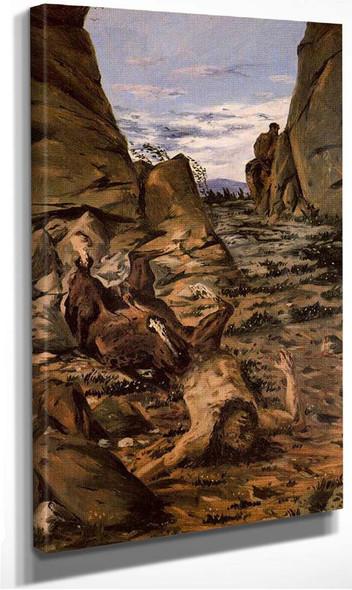 Dying Centaur By Giorgio De Chirico