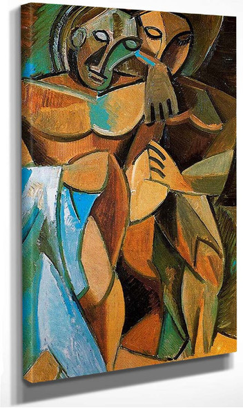 Friendship 1908 By Pablo Picasso