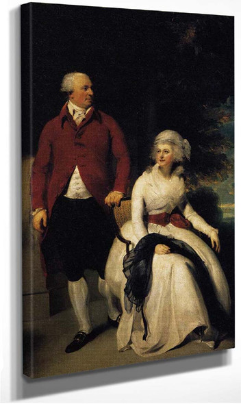 Mr And Mrs John Julius Angerstein By Lawrence Sir Thomas