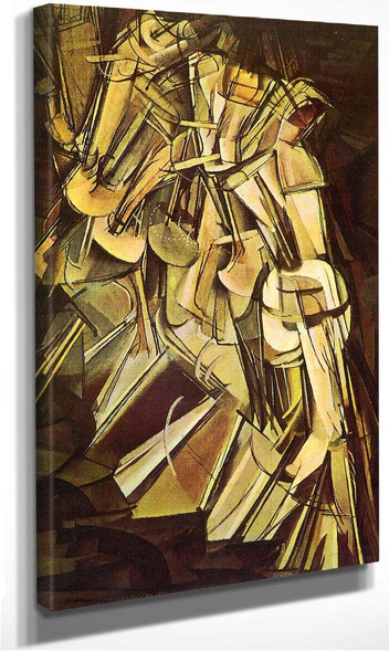 Nude Descending A Staircase No 2 1912 By Duchamp Marcel