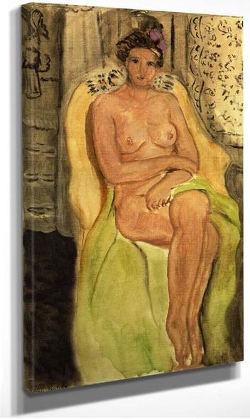 Nude In An Armchair Legs Crossed 1920 By Henri Matisse