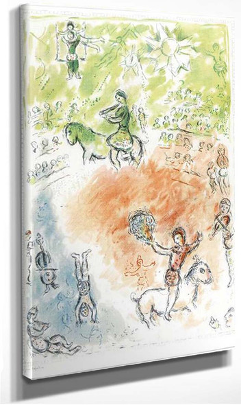 Parade 1980 By Marc Chagall