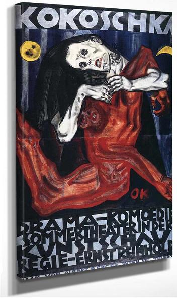 Pieta By Oskar Kokoschka