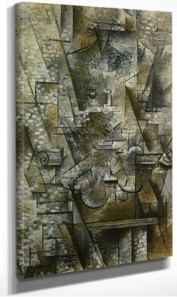 Still Life With A Violin 1911 By Georges Braque