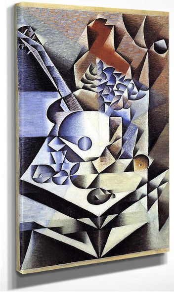 Still Life With Flowers 1912 By Juan Gris