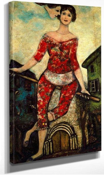 The Acrobat 1930 By Marc Chagall
