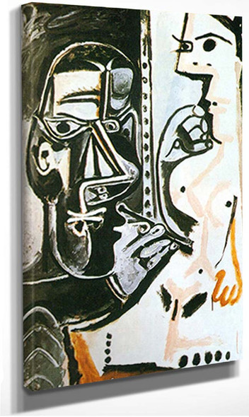 The Artist And His Model By 1 By Pablo Picasso