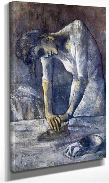 The Ironer 1904 By Pablo Picasso