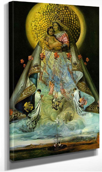 The Virgin Of Guadalupe By Salvador Dali