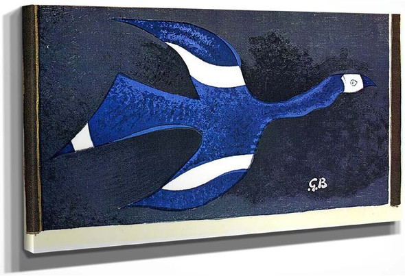 A Bird Passing Through A Cloud 1957 By Georges Braque