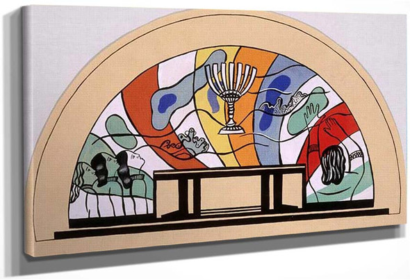A Mosaic Model For The Crypt Of The Memorial At High Mardasson By Fernand Leger