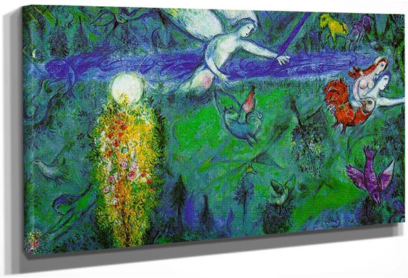 Adam And Eve Expelled From Paradise 1961 6 By Marc Chagall