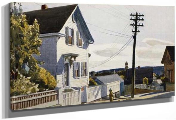 Adam S House By Edward Hopper