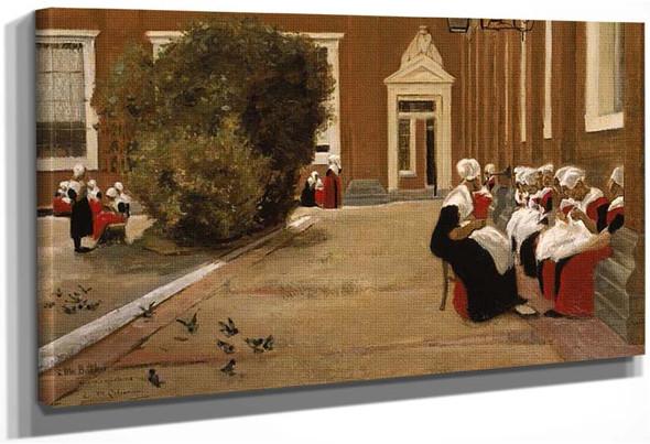 Amsterdam Orphanage 1876 By Max Liebermann