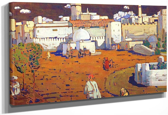 Arab Town 1905 By Wassily Kandinsky