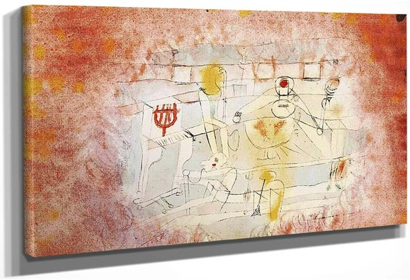Bad Band 1920 By Paul Klee